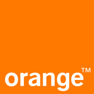 Logo large orange
